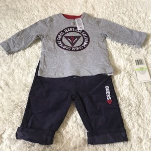 NWT Guess Baby Boy Outfit 3-6 months